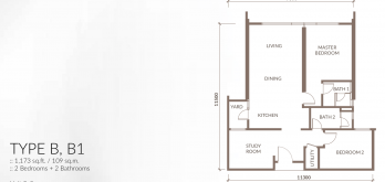sapphire-paradigm-layout-plan-floor-plan-a-a1-a2-a3-2-bed-1-study-2-bath