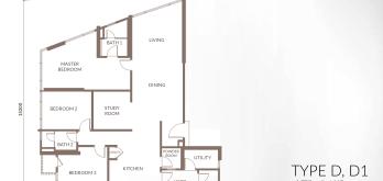 sapphire-paradigm-layout-plan-floor-plan-a-a1-a2-a3-3-bed-1-study-3-bath